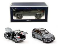 1:18 2019 Mercedes-Benz GLE Grey Metallic in window box