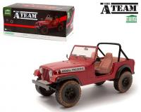 1:18 scale The A Team Jeep CJ-7