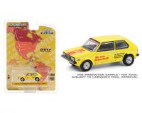 Greenlight Hobby Exclusive 1:64 scale Yellow 1974 VW Golf MK1 Argentina #2