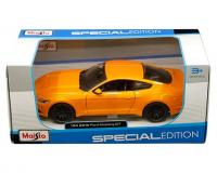 Maisto 1:24 scale Orange 2015 Ford Mustang GT in window box