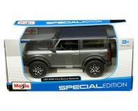 1 24 scale grey metallic 2021 Ford Bronco Badlands in window box