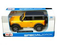 1 24 scale orange 2021 Ford Bronco Badlands in window box