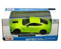 Maisto 1:24 scale green 2020 Ford Mustang Shelby GT500 in window box