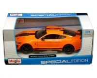 Maisto 1:24 scale orange 2020 Ford Mustang Shelby GT500 in window box