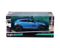 1:24 Blue Off-Road Lamborghini Urus in window box