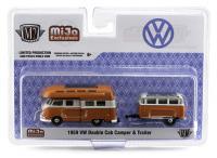 m2 machines mijo exclusives 1:64 1959 VW Double Cab Camper Orange