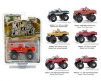 1:64 scale Kings of Crunch Series 8 Assortment in blister pack