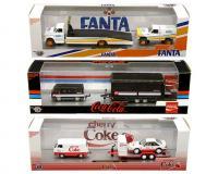 1:64 scale Auto-Haulers Coca-Cola Release 9 Assortment in plastic cases