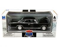 New Ray 1 24 scale black 1966 Pontiac GTO in window box