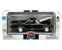 New Ray 1 24 scale black 1970 Chevy El Camino SS in window box