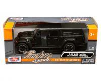 1:27 black 2021 Jeep Gladiator Rubicon with hard top in window box