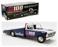 ACME 1 18 scale blue and white 1970 Ford F-350 Ramp Truck U100 Union Co