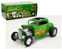 ACME 1 18 scale green 1932 Ford Hot Rod Rat Fink with flames