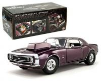 ACME 1 18 scale 1967 Chevy Camaro Drag Outlaws Purple Haze
