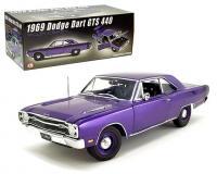 ACME 1 18 scale violet purple 1969 dodge dart gts 440 plum crazy
