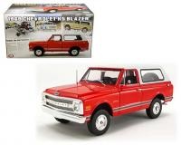 1:18 Red 1969 Chevrolet K5 Blazer with white top
