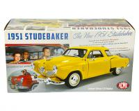 ACME 1 18 scale yellow Studebaker Champion packaging