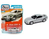 1:64 Silver 1996 Toyota Supra