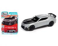1:64 scale Gray 2019 Chevy Camaro ZL1 1LE in blister pack