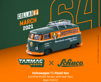 Schuco and Tarmac Works 1 64 scale VW T1 Panel Low Ride Height Jagermeister