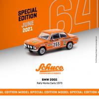 1:64 Orange BMW 2002 Rally Monte Carlo