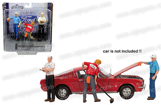 Motor Head 1 18 Ford Service Center Figures Mj Toys Inc