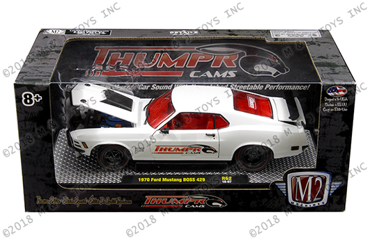M2 Machines Detroit Muscle 1:24 1970 Ford Mustang BOSS 429