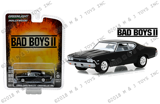 greenlight 1:64 hollywood series 21 - 1968 chevrolet chevelle ss