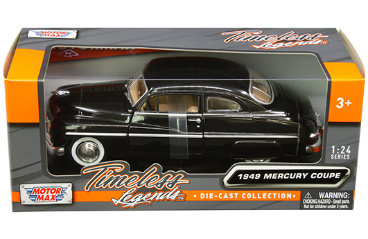 Classic Collection 1949 Ford Mercury NewRay 1:32 Scale Die Cast Vehicle