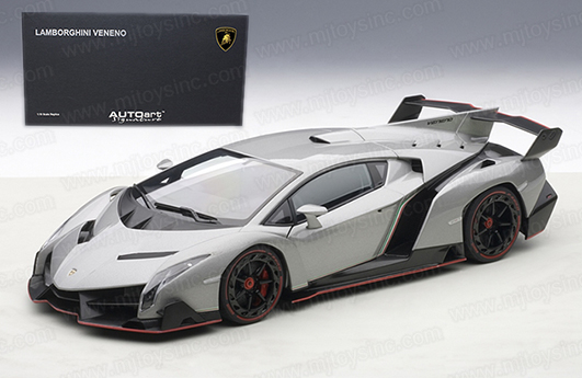 Image result for autoart Veneno 1/18 grey