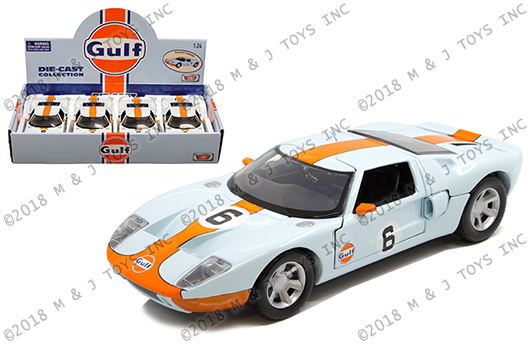 Ford Gt Concept 2004 Gulf Series 1:24 Model MOTORMAX