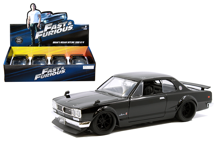 Jadatoys 253203004 Fast /& Furious 1971 Nissan Skyline 1:24