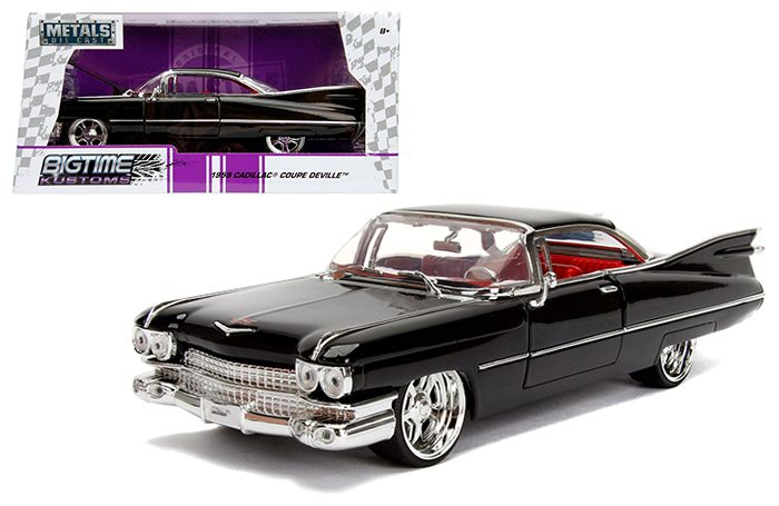Jada 1 24 W B Metals Bigtime Kustoms 1959 Cadillac Coupe