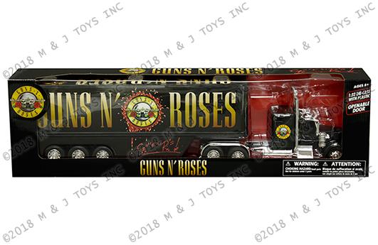New Ray 1:32 Kenworth W900 - Guns N' Roses (Black) | M and J