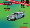 Mini GT 1:64 Tarmac Exclusive LB Works Nissan GT-R R35 Type 2 Rear Wing Version 3 LHD Special Magic Green Color Limited Edition
