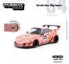 Tarmac Works 1:64 Porsche WRB 993 Sopranos #23 (Pink) with Container