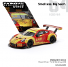 Tarmac Works 1:64 Porsche 911 GT3 R (Red/Yellow) Macau GT Cup #912 - FIA GT World Cup 2018 Earl Bamber