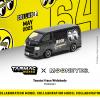 ( Preorder ) Tarmac Works Hobby 1:64 Toyota Hiace Widebody Mooneye's Black Limited Edition
